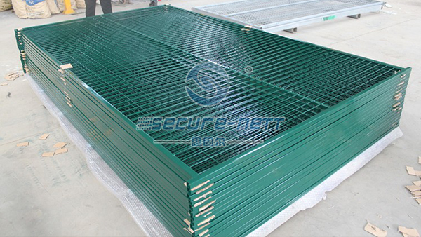 Powder coated Canada Temporary Wire Mesh Fence