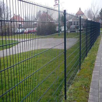 Powder Coated Welded Mesh Fence Panels