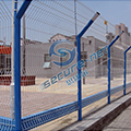 3D curved wire mesh fence exporter