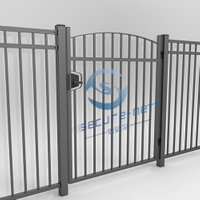 Steel Fence Gate