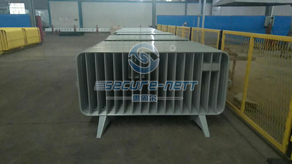 Zinc Metal Welded Galvanized Crowd Control Barriers